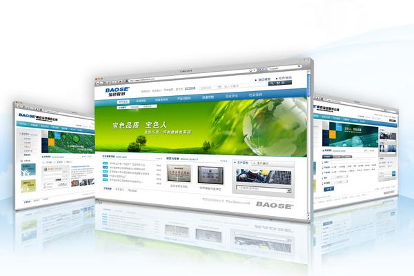 [互联网]南京宝色企业文化网站设计